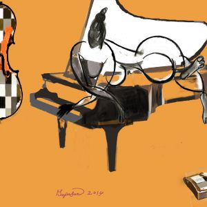 피아노를 사랑하는 여인